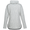 View Extra Image 1 of 2 of Thrive Blend Cowl Neck Sweatshirt - Ladies'