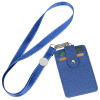View Extra Image 1 of 2 of Double Pocket RFID Neck Wallet