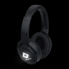 View Extra Image 1 of 5 of Harlow Light-Up Logo Bluetooth Headphones - 24 hr