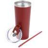 View Extra Image 2 of 3 of Colma Vacuum Tumbler with Straw - 22 oz. - Colors