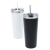 View Extra Image 6 of 7 of Colma Vacuum Tumbler with Straw - 22 oz. - 24 hr