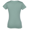 View Extra Image 1 of 1 of Econscious Organic Cotton V-Neck T-Shirt - Ladies'