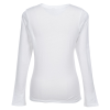 View Extra Image 1 of 1 of Econscious Organic Cotton LS T-Shirt - Ladies' - White - Embroidered