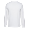 View Extra Image 1 of 1 of Econscious Organic Cotton LS T-Shirt - Men's - White - Embroidered