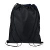 View Extra Image 1 of 2 of Lynford Heathered Drawstring Backpack