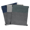 View Extra Image 2 of 2 of Lynford Heathered Drawstring Backpack