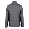 View Extra Image 1 of 2 of Clique Ice Colorblock 1/2-Zip Pullover - Men's