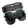 View Image 3 of 3 of Wood Grain Beach Sunglasses - Sides