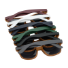 View Image 3 of 3 of Wood Grain Beach Sunglasses - Front