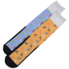View Extra Image 1 of 2 of Unisex Patterned Socks - Planes