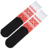 View Extra Image 2 of 2 of Unisex Patterned Socks - Sweater
