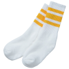 View Extra Image 1 of 1 of SOCCO Striped Crew Socks