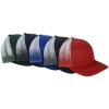 View Extra Image 1 of 2 of Richardson Printed Mesh Back Trucker Cap - OMBRE