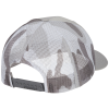 View Extra Image 1 of 2 of Richardson Printed Mesh Back Trucker Cap - CAMO