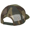 View Extra Image 2 of 2 of Richardson Printed Mesh Back Trucker Cap - CAMO