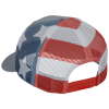 View Extra Image 1 of 3 of Richardson Printed Mesh Back Trucker Cap - FLAG