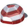 View Extra Image 2 of 3 of Richardson Printed Mesh Back Trucker Cap - FLAG