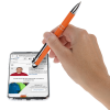 View Extra Image 3 of 4 of Caddo Soft Touch Stylus Metal Pen