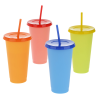 View Extra Image 2 of 2 of Chameleon Color Change Tumbler with Straw - 24 oz.