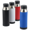View Extra Image 1 of 8 of Carter Vacuum Bottle with Wireless Charger/Power Bank - 22 oz. - 24 hr