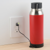 View Extra Image 2 of 8 of Carter Vacuum Bottle with Wireless Charger/Power Bank - 22 oz. - 24 hr