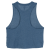 View Extra Image 1 of 2 of Bella+Canvas Cropped Racerback Tank - Ladies'