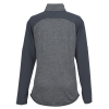 View Extra Image 1 of 2 of Under Armour Qualifier Hybrid Corporate 1/4-Zip Pullover - Ladies' - Embroidered
