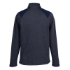 View Extra Image 1 of 2 of adidas Heather 1/4-Zip Pullover - Men's