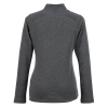 View Extra Image 1 of 2 of adidas Heather 1/4-Zip Pullover - Ladies'