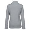 View Extra Image 1 of 2 of adidas Melange 1/4-Zip Pullover - Ladies'