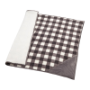 View Extra Image 1 of 2 of Field & Co. Double Sided Plaid Sherpa Blanket