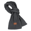 View Image 2 of 3 of Rib Knit Patch Scarf