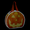 View Image 2 of 2 of Reflective Halloween Pumpkin Tote