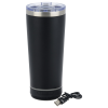 View Extra Image 1 of 6 of Bluetooth Speaker Vacuum Tumbler - 18 oz.