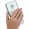 View Image 4 of 7 of Leeman Marble Smartphone Wallet with Ring Phone Stand
