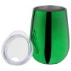 View Extra Image 1 of 2 of Metallic Shine Vacuum Wine Cup - 10 oz.