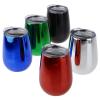 View Extra Image 2 of 2 of Metallic Shine Vacuum Wine Cup - 10 oz.