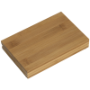 View Extra Image 1 of 2 of 4 pc Bamboo Wine Gift Set - 24 hr