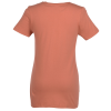 View Extra Image 2 of 2 of American Apparel Organic Jersey T-Shirt - Ladies' - Colors