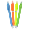 View Extra Image 5 of 5 of Soft Touch Twist Pen/Highlighter - Full Color
