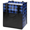 View Extra Image 1 of 3 of Northwoods Plaid Grocery Tote