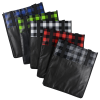 View Extra Image 2 of 3 of Northwoods Plaid Grocery Tote