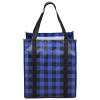 View Extra Image 3 of 3 of Northwoods Plaid Grocery Tote