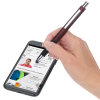 View Extra Image 2 of 4 of Allister Soft Touch Stylus Metal Pen - 24 hr