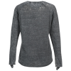 View Extra Image 1 of 2 of J. America Zen Jersey LS T-Shirt - Ladies'