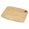 View Extra Image 1 of 1 of Large Bamboo Cutting Board with Silicone Grip