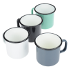 View Extra Image 1 of 1 of Enamel Metal Camper Mug - 16 oz.