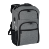 View Extra Image 2 of 4 of RFID Laptop Backpack - Embroidered- 24 hr