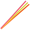 View Extra Image 1 of 1 of Fluorescent Enamel Yardstick - 1-1/8 inches x 1/8 inches