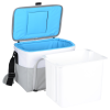 View Extra Image 4 of 4 of Igloo Seadrift Hard Lined Cooler - 24 hr